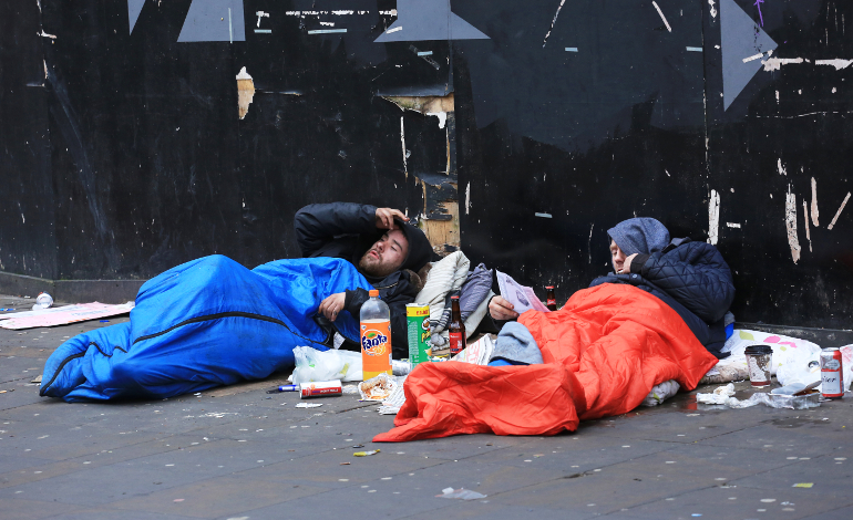 Manchester City Council, homeless