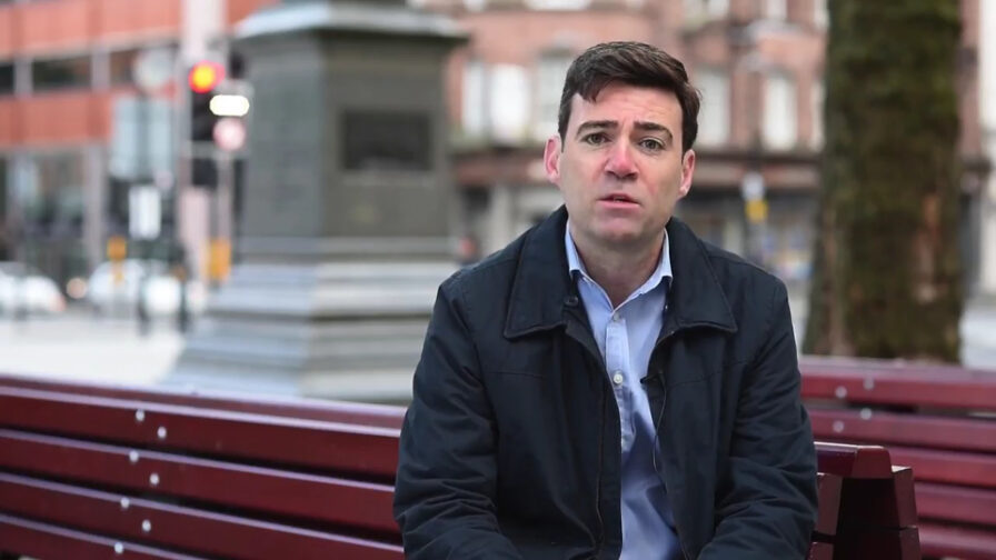 Andy Burnham rough sleeping