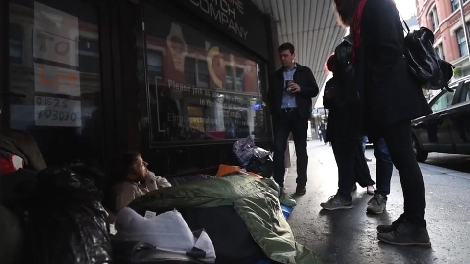 homelessness rough sleeping
