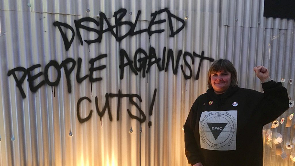 Disabled People Against Cuts Conservative party conference