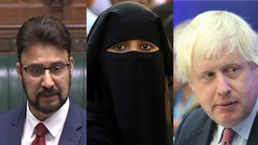 Boris Johnson Islamophobia