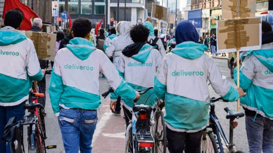 Deliveroo strike