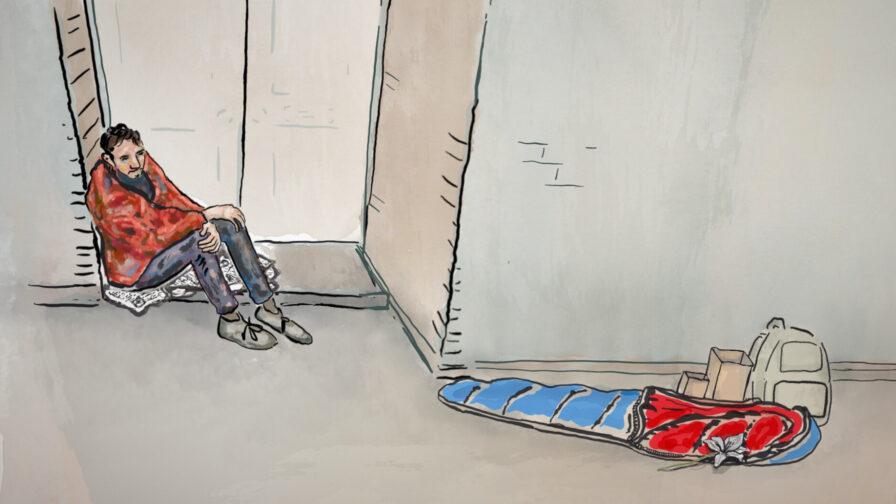homeless rough sleeping