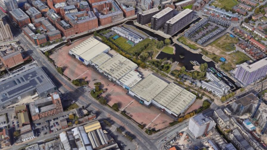 car park Central Retail Park