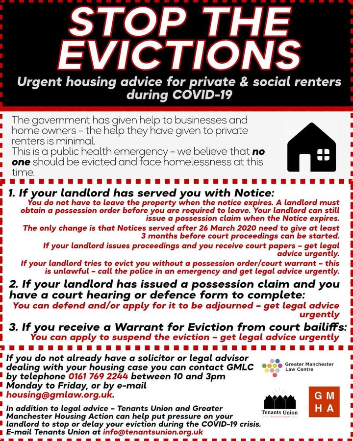 GM Stop Eviction Guide