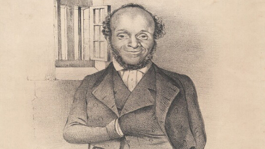 Lithograph Portrait of William Cuffay