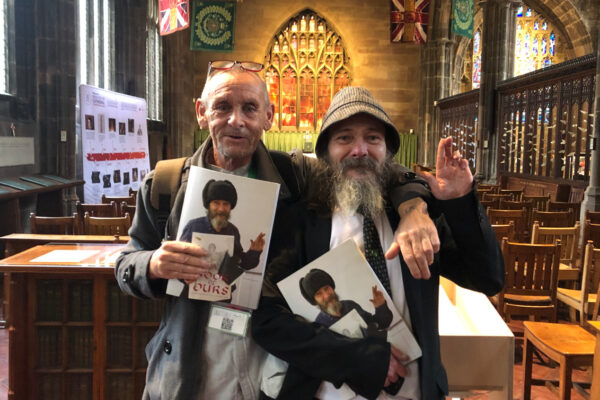 Manuscript records Manchester homeless experiences in illuminated style