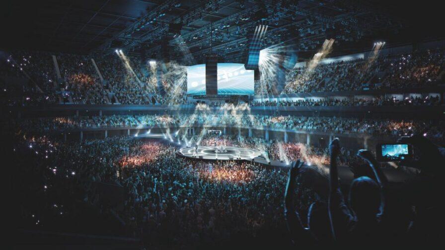 Artists impression of Eastlands Arena Bowl
