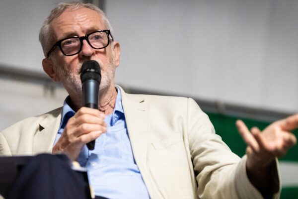 Corbyn calls for a more democratic media, at event opposing Tory conference in Manchester
