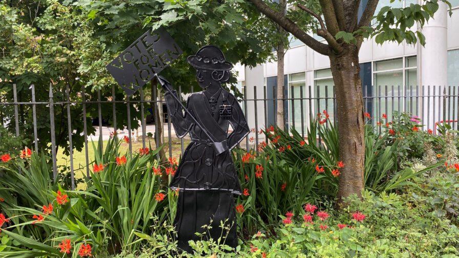 Pankhurst Centre garden