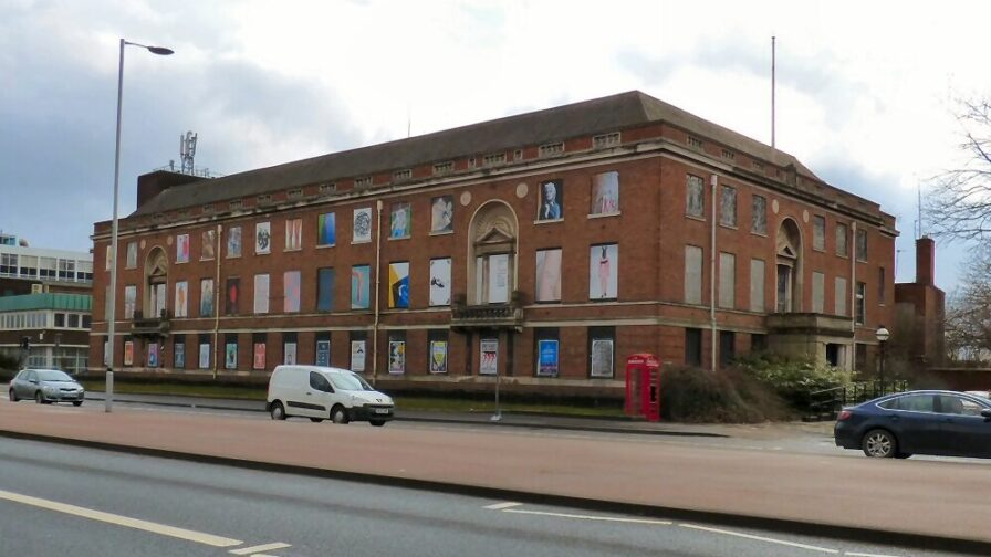the old Police HQ on the Crescent in Salford