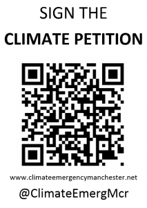 climate change petition QR code