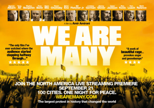 film poster for We Are Many