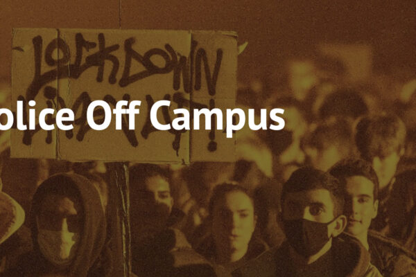 mcr students - police off campus
