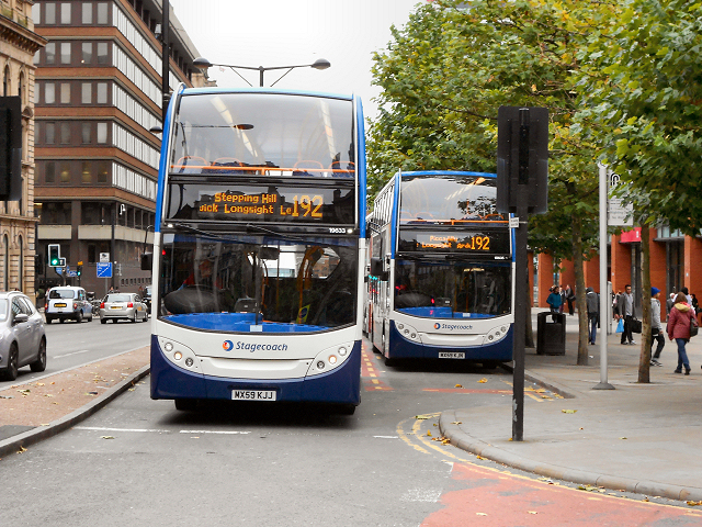 192 Bus in Manchester