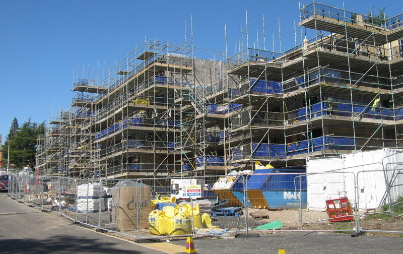 Image of building site, to complement a story on planning system changesplanning