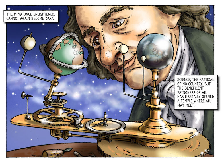 Breathing life back into Tom Paine's bones – graphic novel aims to resurrect neglected political reformer