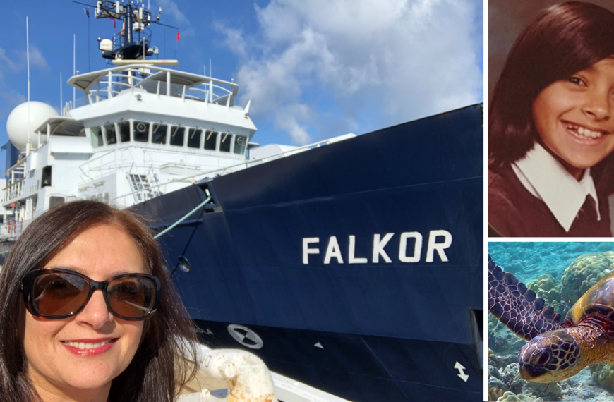 How a Manchester schoolgirl became a world leading ocean scientist
