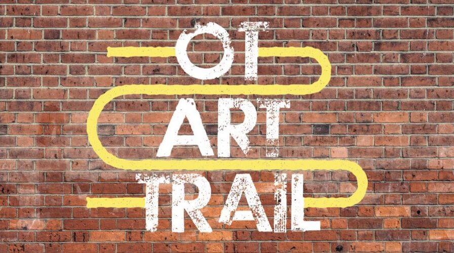OT Art Trail graffiti on a wall
