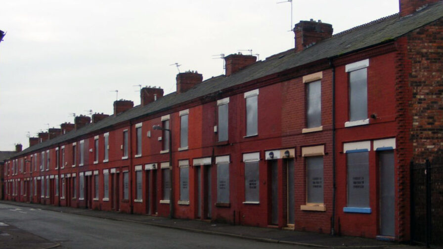 empty homes shuttered in Greater Manchester