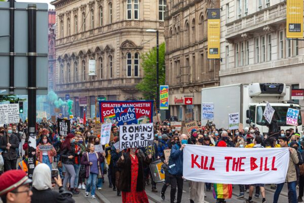 Manchester marches to oppose 'greatest blow to democracy' threatened by the police powers bill