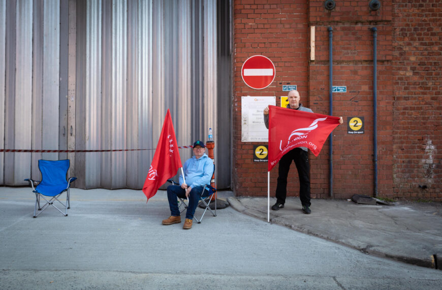 Community and the carnivalesque – thoughts on the Manchester bus driver picket line