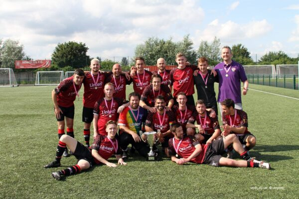 Village Manchester FC – cup victors are united against bigotry and hate