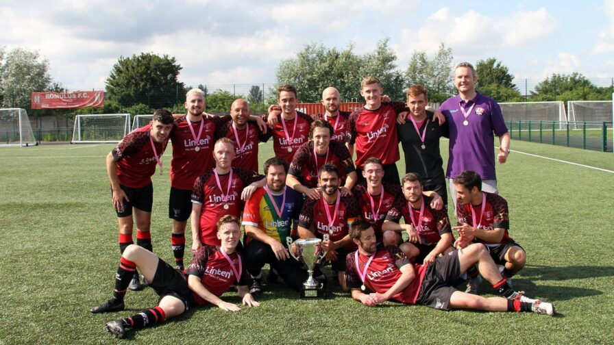 Village Manchester FC win the cup