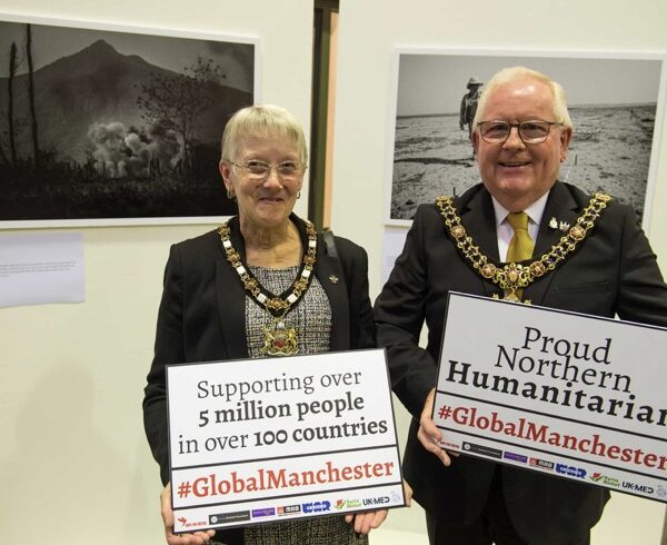 Manchester celebrated as 'northern humanitarian powerhouse'